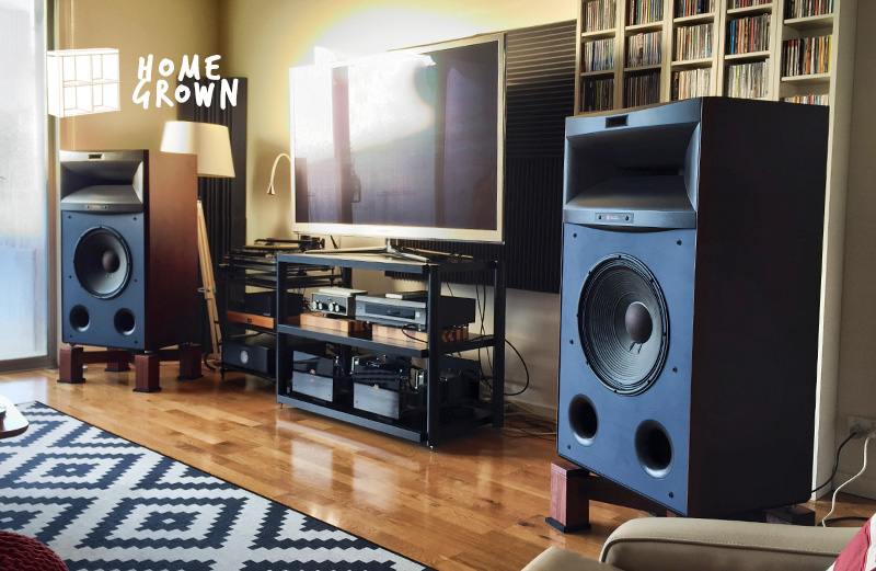 Home Grown: The collector with JBL 4365 Studio Monitors and a Kuzma Stabi Reference turntable