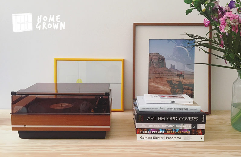 Home Grown: The collector with a unique album cover art section