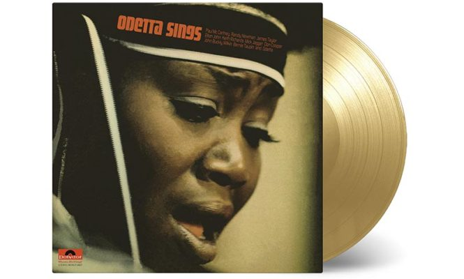 Odetta&#8217;s soulful 1970 album <em>Odetta Sings</em> reissued on gold vinyl