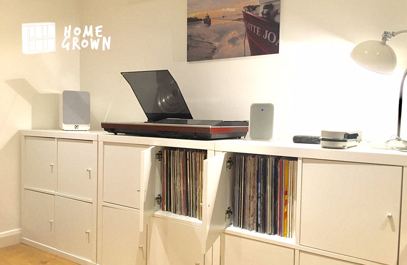 Home Grown: The collector with a Rega 3, 1980s B&O Beocenter, and an AT Sound Burger