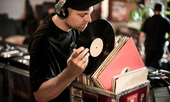 DJ Shadow is selling records from his personal collection again