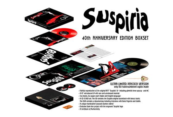 Goblin S Cult Suspiria Soundtrack Gets 40th Anniversary