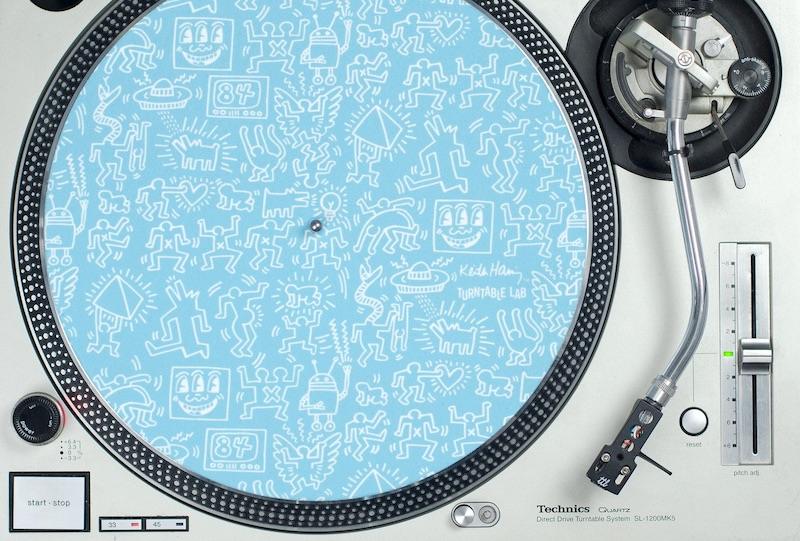 Turntable Lab releases limited edition Keith Haring t-shirts and slip-mats