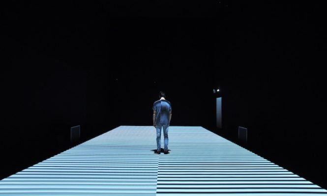 Ryoji Ikeda's new a/v artwork test pattern [N°12] is now open at The Store X