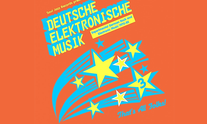 Experimental German rock and electronic music from 1970-1982 collected in new Soul Jazz compilation
