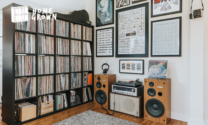 Home Grown: A stunning collection of autographed records