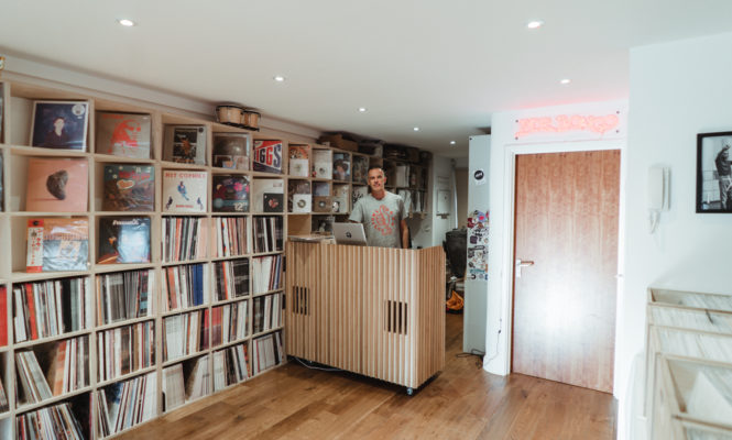 Inside Mr Bongo's new beach-side record sanctuary