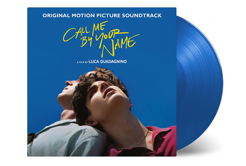 <em>Call Me By Your Name</em> soundtrack released on limited blue vinyl