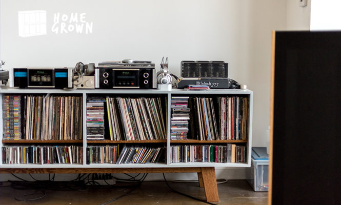 Home Grown: The analog aficionado with a McIntosh 275 amplifier