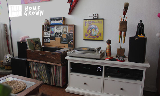 "Home Grown: ""My collection is more important than a sofa or a refrigerator"""
