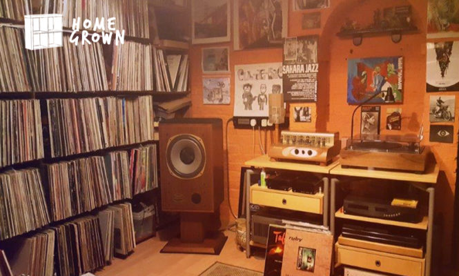 Home Grown: The collector who has owned over 20,000 records during his life