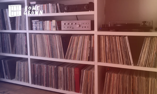 Home Grown: Meet the collector who likes smelling his records