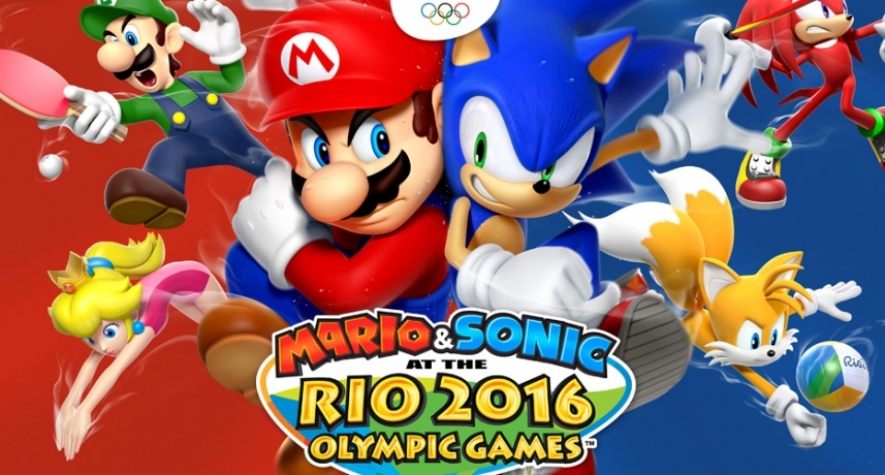 Currently Spiking: Mario & Sonic at the Rio 2016 Olympic Games