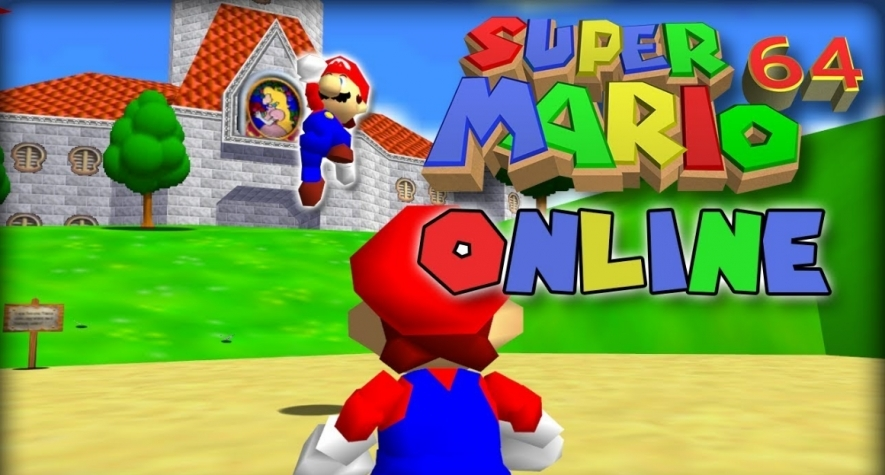 Super Mario 64 gets on online multiplayer mod