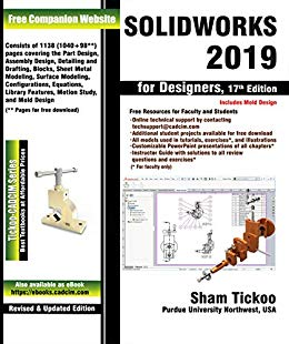 SOLIDWORKS 2019 for Designers, 17th Edition (PDF Download)