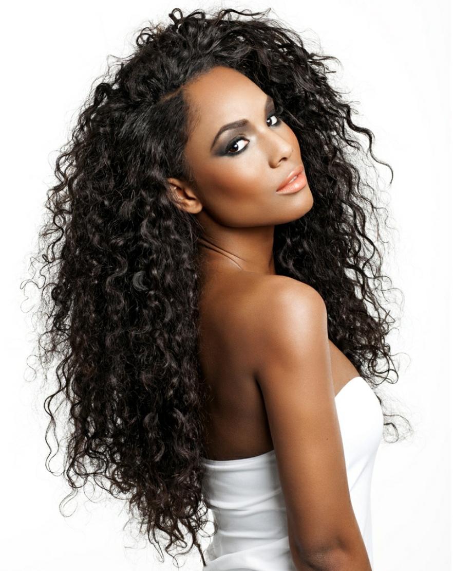 Groovy Virgin Brazilian Curly Hairstyle Inspiration Daily Dogsangcom