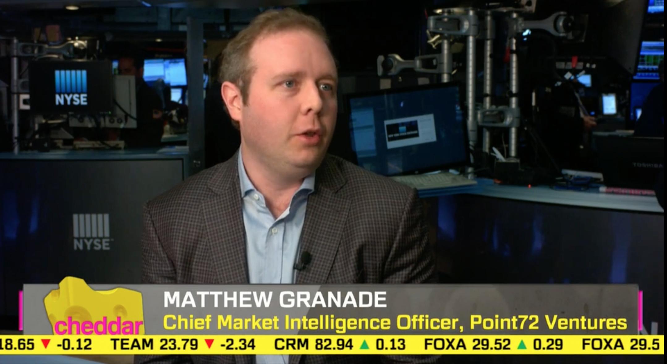 Point72 Ventures' Matthew Granade explains Steve Cohen's strategy for venture investing