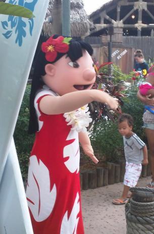 ¿En qué Parques de Disney encuentro a Lilo?