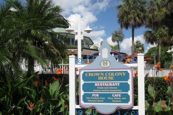 Crown Colony Café - Busch Gardens