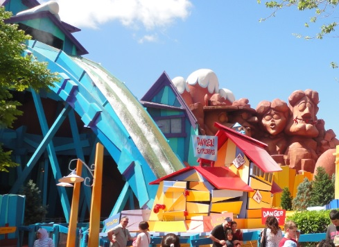 Dudley Do-Right's Ripsaw Falls - Islands of Adventure