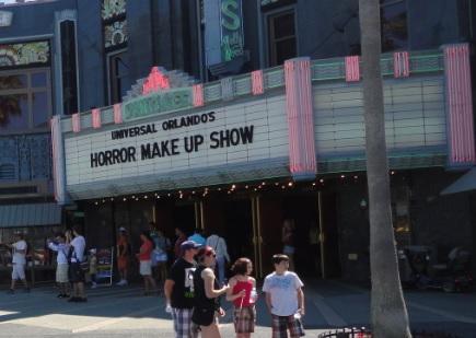 Horror Make Up Show - Universal Studios