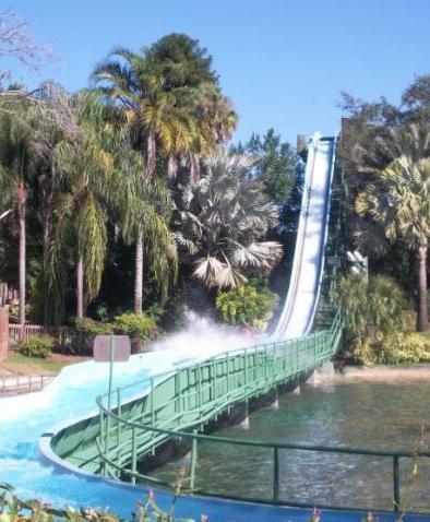 Stanley Falls Flume - Busch Gardens