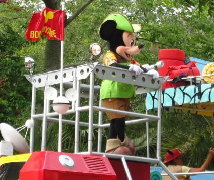 ¿Qué es el Mickey's Jammin' Jungle Parade?