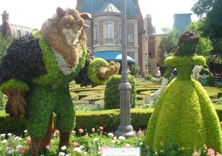 ¿Qué es The Epcot International Flower & Garden Festival?