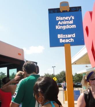 Si no tengo vehículo ¿Cómo me traslado a los Parques de Disney?