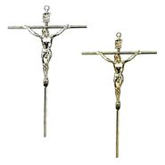 Crucifixo de Parede em Metal - Redondo