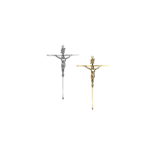 Crucifixo de Parede em Metal - Quadrado