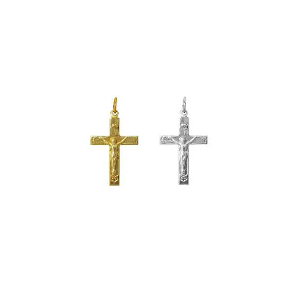 Crucifixo para Terço - 20mm x 30mm