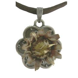 Pingente Rosa de Belém - Flor Mini - Não acompanha o cordão