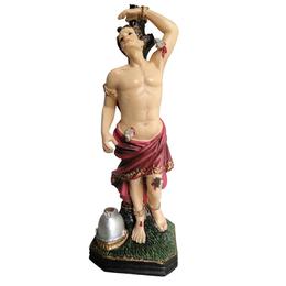 Imagem de São Sebastião em Resina de 13,5cm