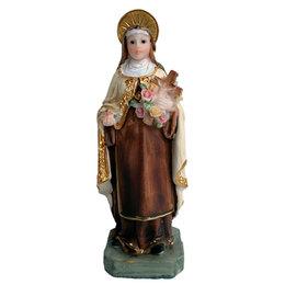 Imagem de Santa Terezinha em Resina de 12cm