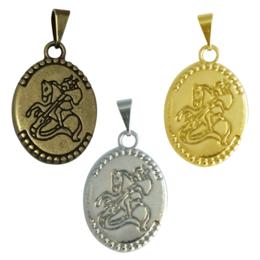 Medalha de São Jorge - Oval