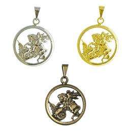 Medalha de São Jorge - Redonda