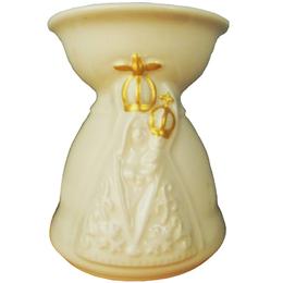 Incensório Cerâmica Esmaltada - Nossa Senhora de Nazaré