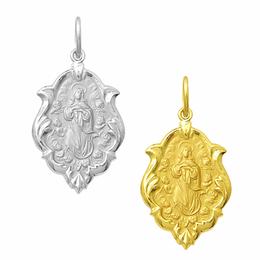 Medalha em Ouro de Nossa Senhora da Conceição - Ornato