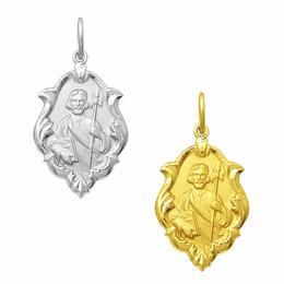 Medalha em Ouro de São Judas Tadeu - Ornato