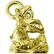 Imagem jorge bolso dourada