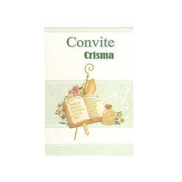 Convite de Crisma