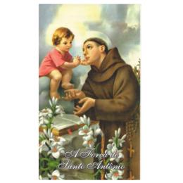 Folheto Oração às forças de Santo Antônio