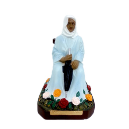 Imagem da Santa Nhá Chica em Resina de 7,5cm