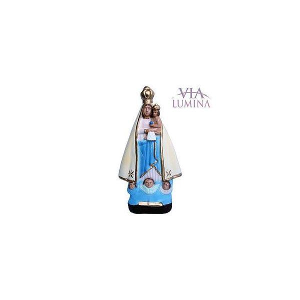 Nossa Senhora de Nazaré - Gesso ou Resina - 20cm