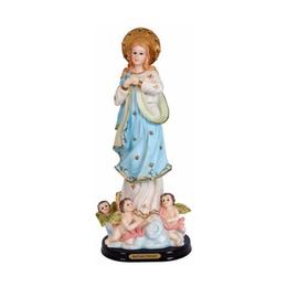 Imagem de Nossa Senhora Imaculada Conceição em Resina de 20cm