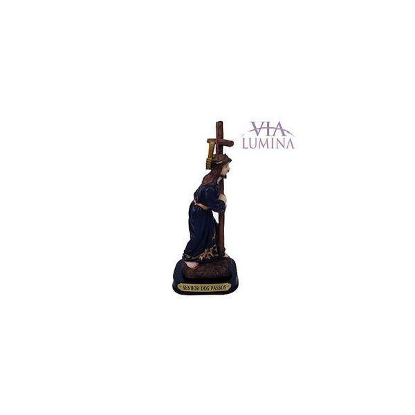 Imagem do Senhor dos Passos em Resina de 14cm