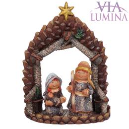 Sagrada Família Natalina - 16cm