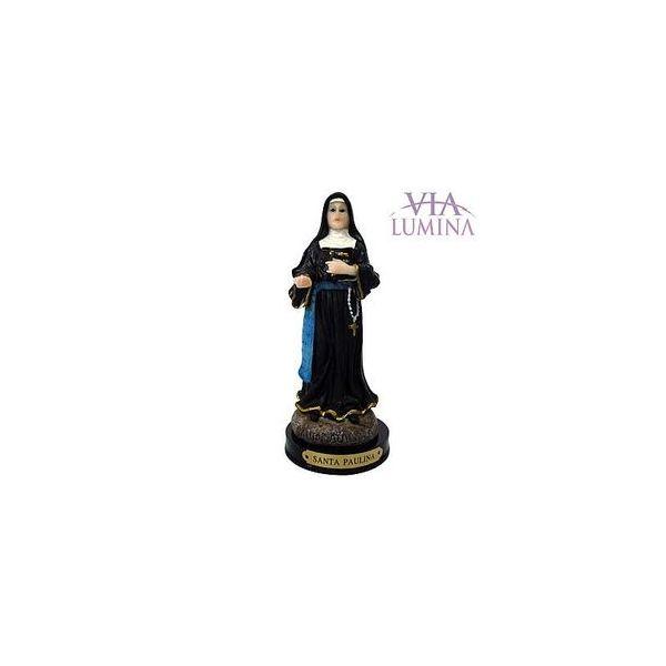 Imagem de Santa Paulina em Resina de 14cm