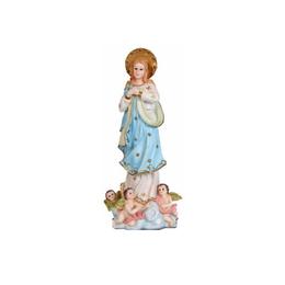 Imagem de Nossa Senhora Imaculada Conceição em Resina de 8cm